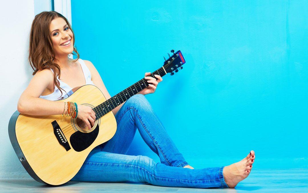 Ik ga op gitaarles en heb een gitaar nodig