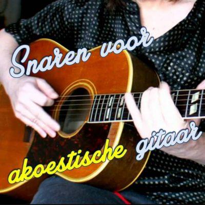 Snaren voor akoestische gitaren