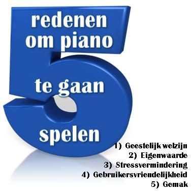 5 redenen om piano te gaan spelen