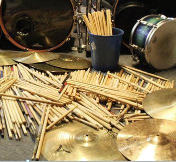 Cymbals & Sticks