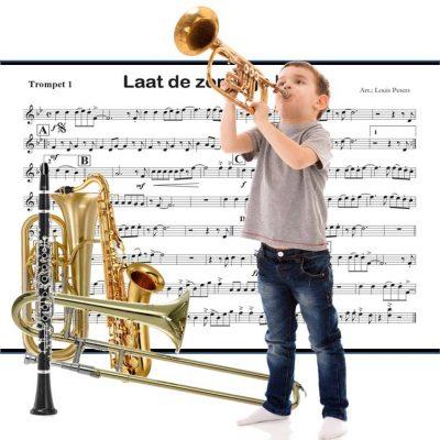 Lesmethode blaasinstrumenten