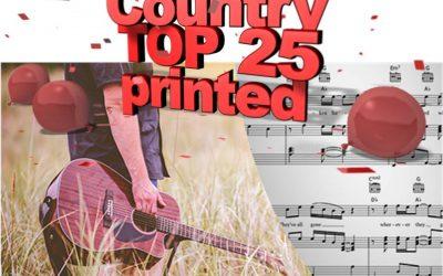 De Top 25 in Country