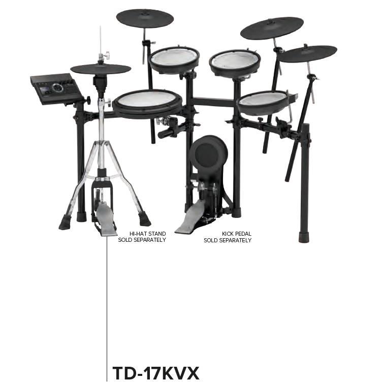 Elektrische drumsets