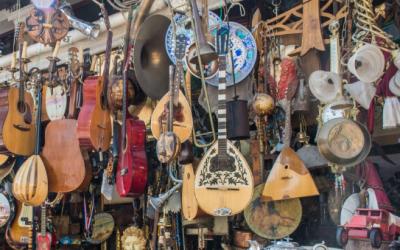 Instrumenten rommelmarkt