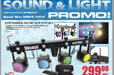 Nieuwe folder Sound&Light