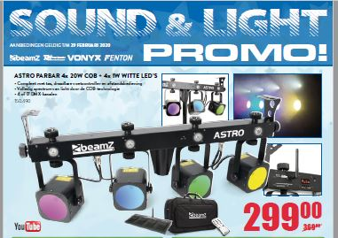 Nieuwe folder Sound&Light