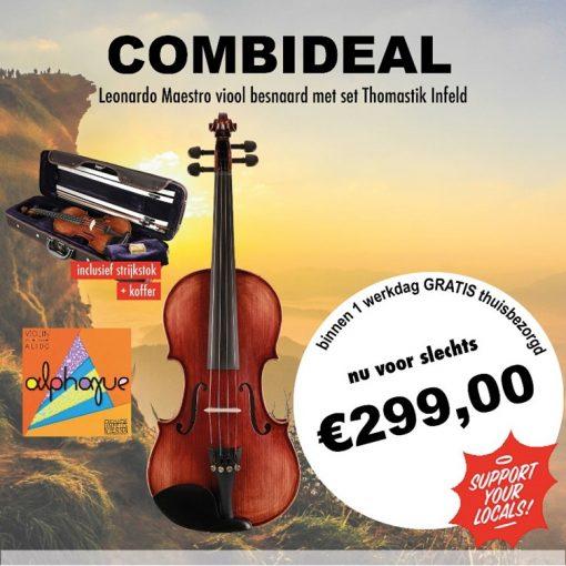 Combideal Leonardo Maestro viool
