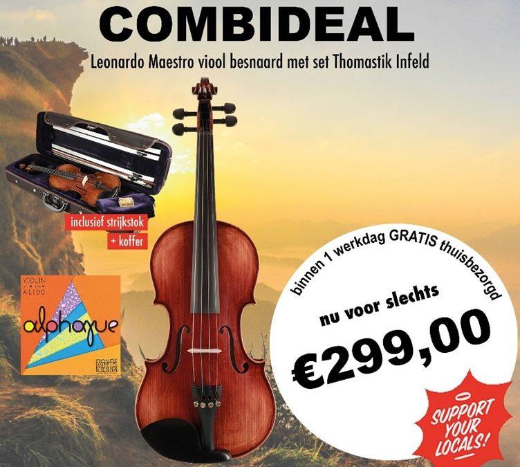 Ook een viool in onze combideals