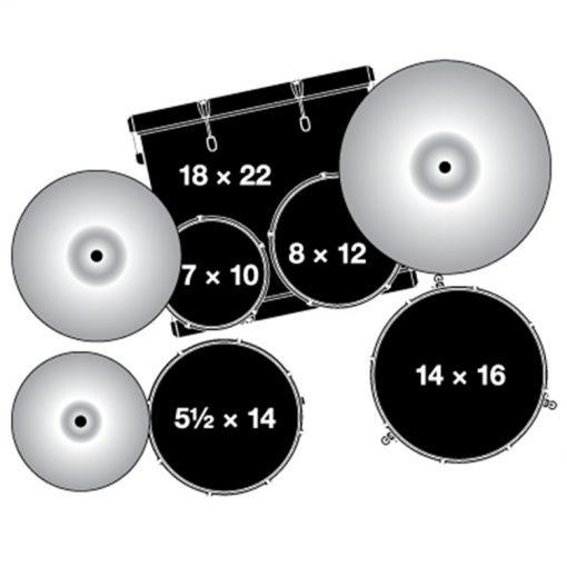 configuratie Gretsch Energy Drumset