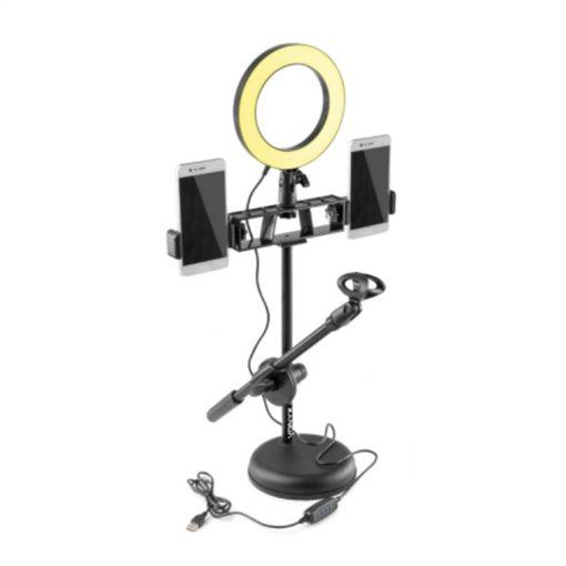 Ring Light met tafelstandaard