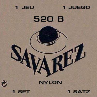 Savarez wit low tension