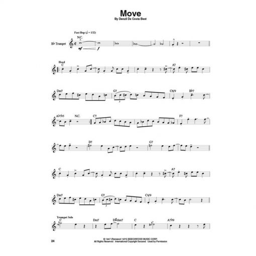 Trumpet Play Along Miles Davis